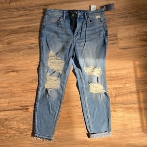 Hollister High-Rise Crop Skinny Jeans
